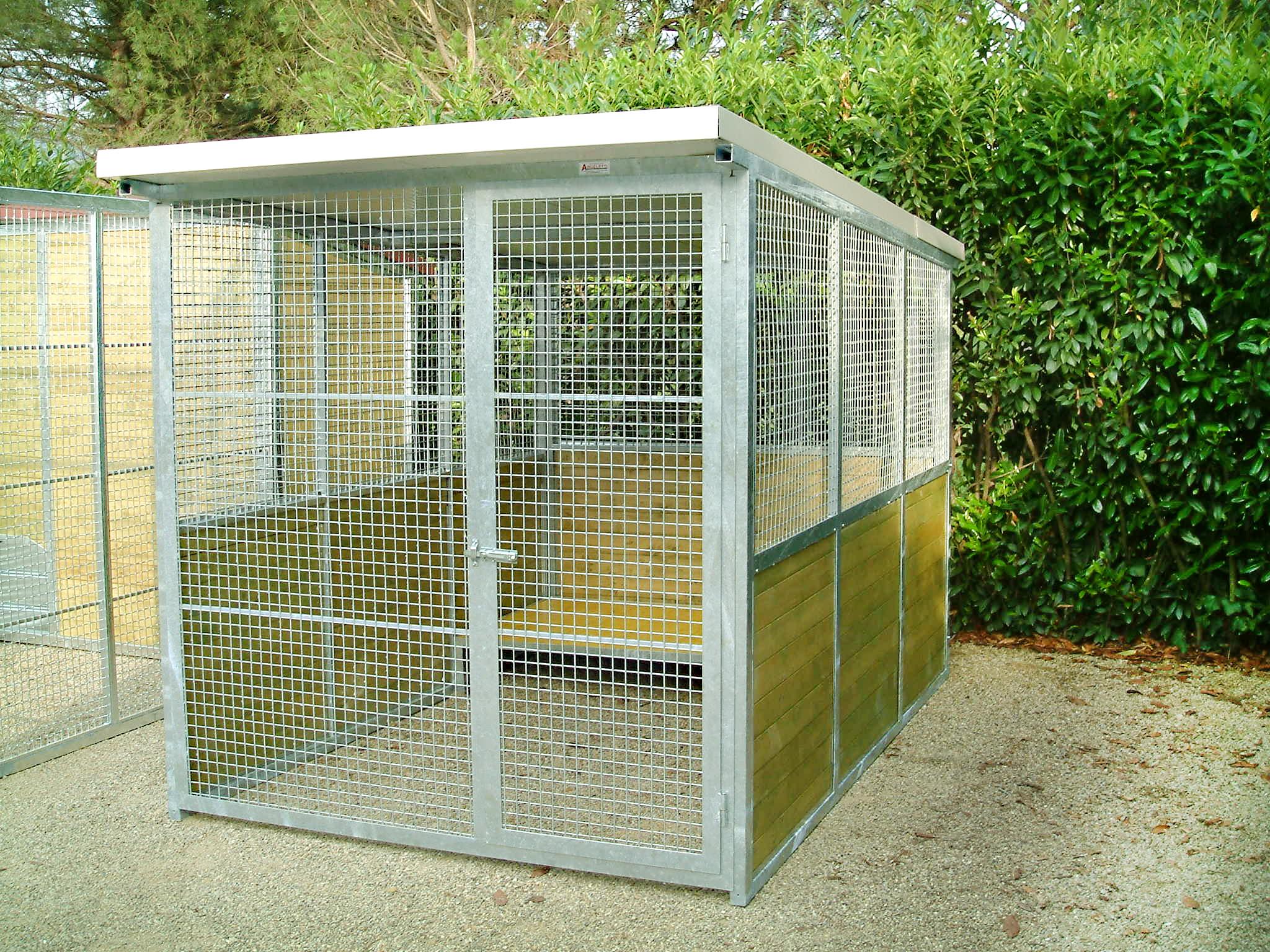 Box per cani archivi pagina 3 di 3 metalmax for Box per cani da esterno usati