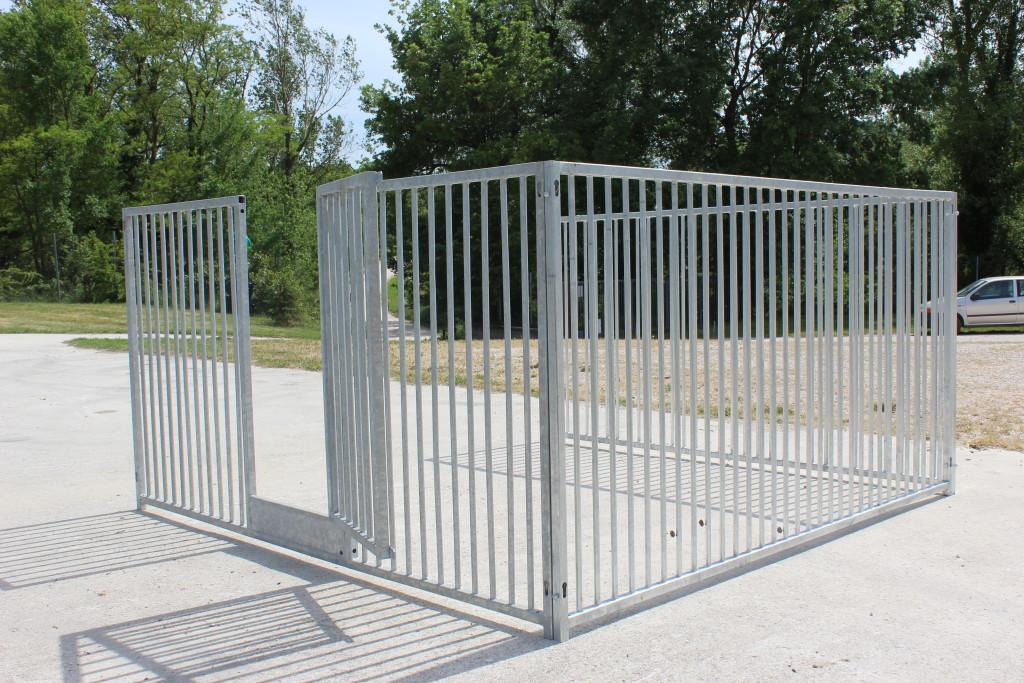 Pannello infinity metalmax for Costruire recinto per cani