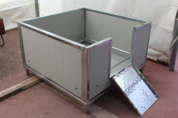 Cassa parto metalmax for Box parto per cani