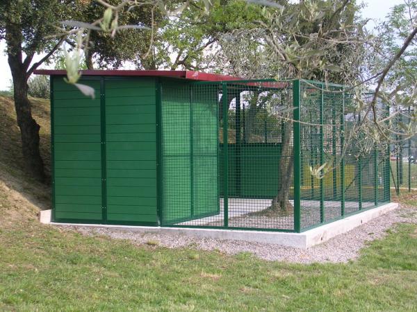 Multibox metalmax for Recinzione per cani da esterno
